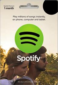 گیفت کارت Spotify