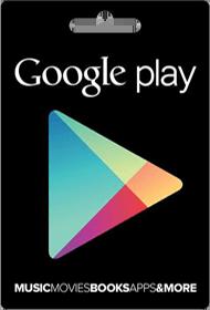 گیفت کارت Google play